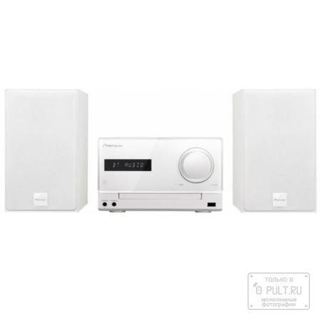 Pioneer X-CM35-W  — 14990 руб. —  Модель X-CM35 отличается возможностью простого беспроводного воспроизведения музыки, загруженной в смартфон или любое устройство с поддержкой Bluetooth. Теперь мы сможете наслаждаться любимой музыкой без проводов с помощью функции NFC. Система обеспечивает беспроводное воспроизведение музыки, программ Интернет-радио и иного контента из смартфона, цифрового аудиоплеера, компьютера или других Bluetooth устройств. Если у вас смартфон с поддержкой Bluetooth или…