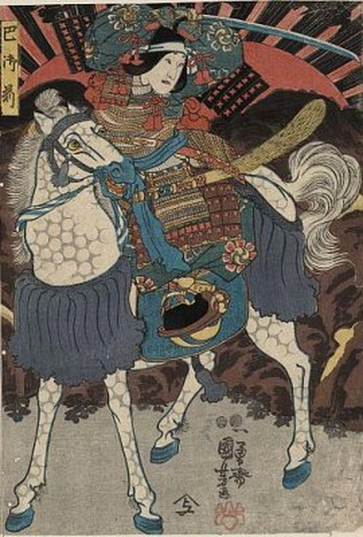 Meet the Samurai Women of Asian History: Tomoe Gozen on Horseback