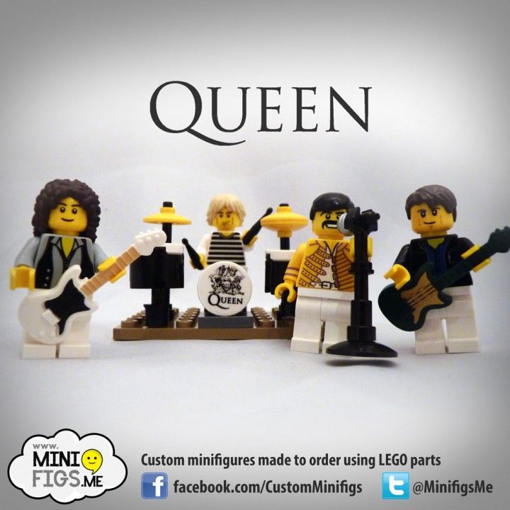 Queen Custom LEGO minifigures