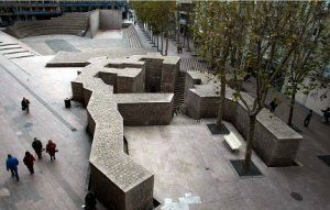 El proyecto para restaurar la plaza de Los Fueros estará listo en un mes