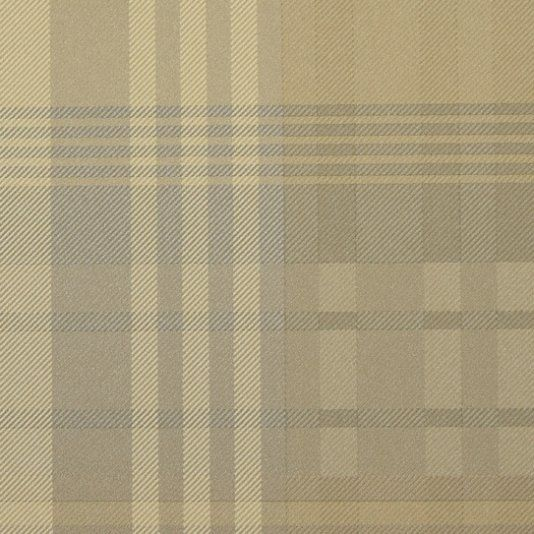 Mulberry Ancient Tartan Wallpaper A unique wallpaper in the Mulberry Ancient Tartan design, shown in beige and ivory.