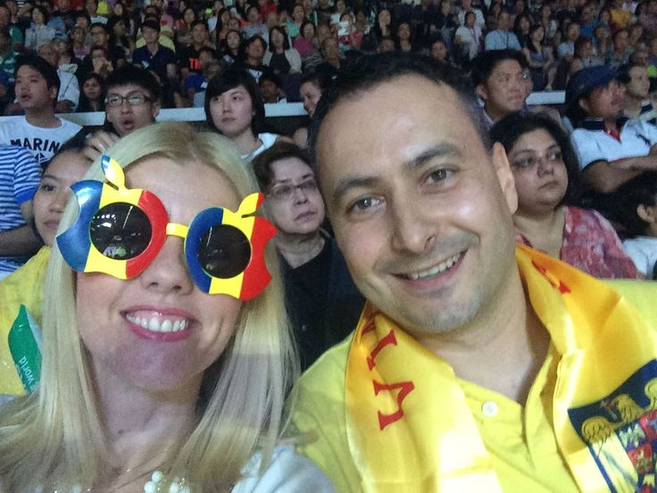 Romanian Fans in Singapore WTAF2014