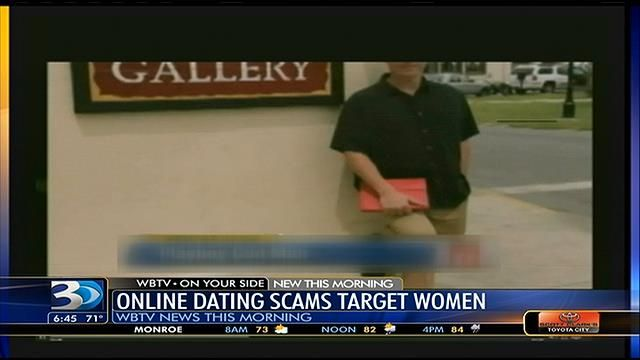 How are women targeted in online dating