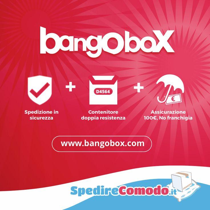Sai che la tua merce viaggia sicura con Bangobox? Spedizione assicurata significa che ti rimborsiamo fino a €100. E non è finita... l'assicurazione non prevede nessuna franchigia!  Clicca sul link e scopri come funziona:  Bangobox: spedizione + scatola + assicurazione #spedizioni #spedire #pacchi #pacco #merce #imballaggio #imballare #ecommerce #shoppingonline #scatola #scatole #corriereespresso #spedizioniere #spedireinitalia