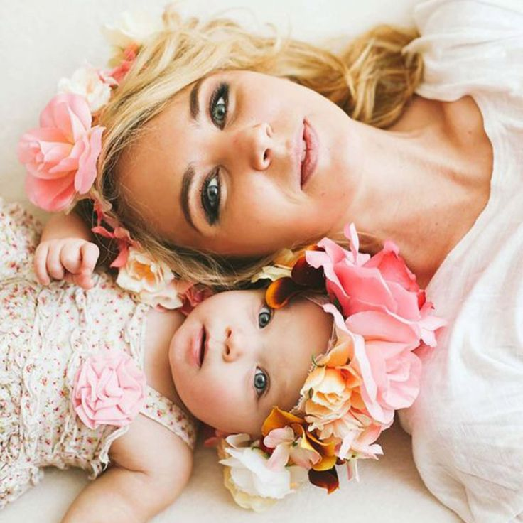 Matching Flower Crown for Mother and Daughter