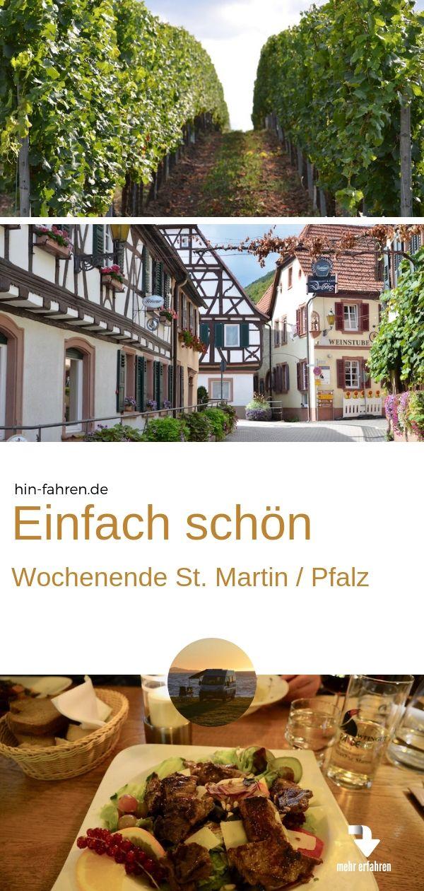 St Martin Wochenende 1 Kurztrip Mit Wohnmobil In Die Pfalz Kurztrip Reisen Und Hotel Deutschland
