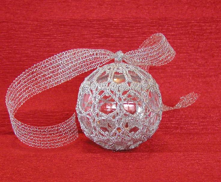 Xmas ball 2 [ handmade crochet ]