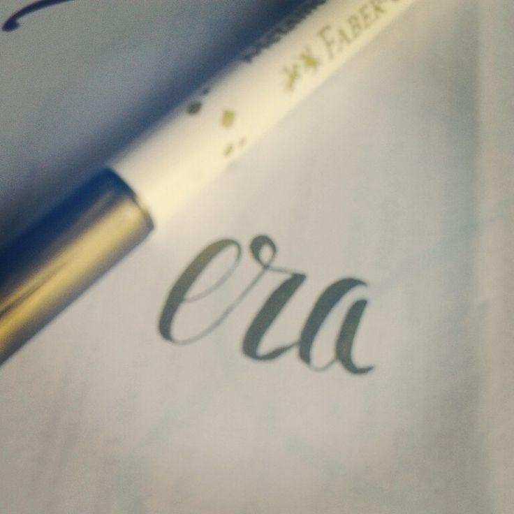 Era lettering
