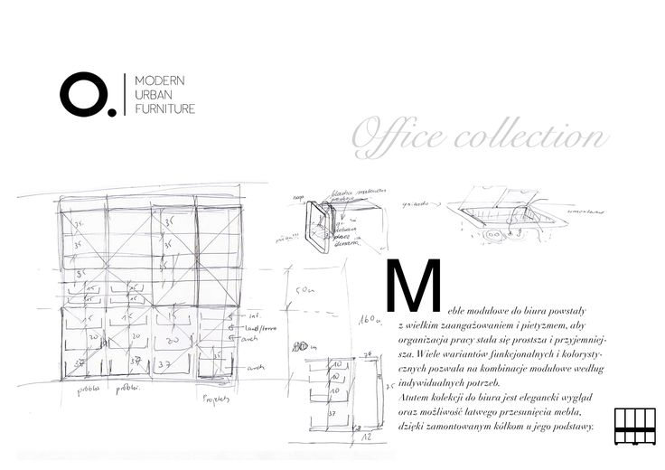 Modular furniture from our Office collection.