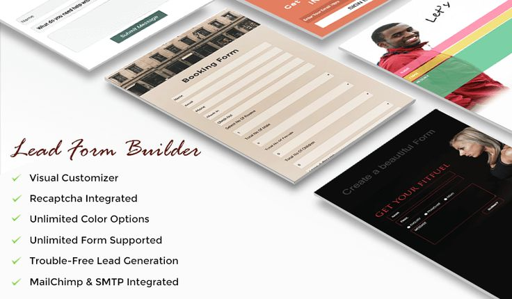 """Check out my @Behance project: """"Lead Form Builder Pro"""" https://www.behance.net/gallery/49984577/Lead-Form-Builder-Pro"""