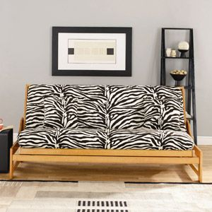 Zebra Print For Ellie 50 Futon Slipcoverfuton