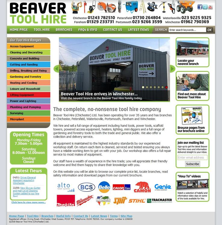 Beaver Tool Hire (Chichester) Ltd Tool & Equipment Hire Unit 4/Byngs Business Pk Soake Road Hambledon Waterlooville Hampshire PO7 4QX | To get more infomration about Beaver Tool Hire (Chichester) Ltd, Location Map, Phone numbers, Email, Website please visit http://www.HaiUK.co.uk