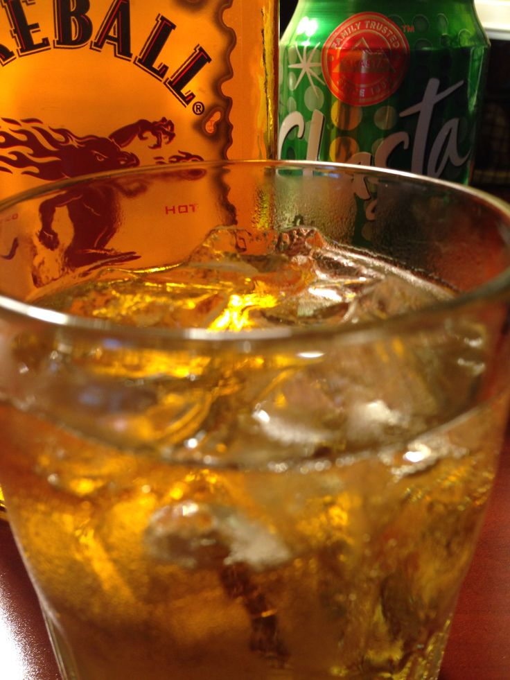 Firecrotch. Fireball Whiskey and Ginger Ale. One sip and you'll be ginger all over.