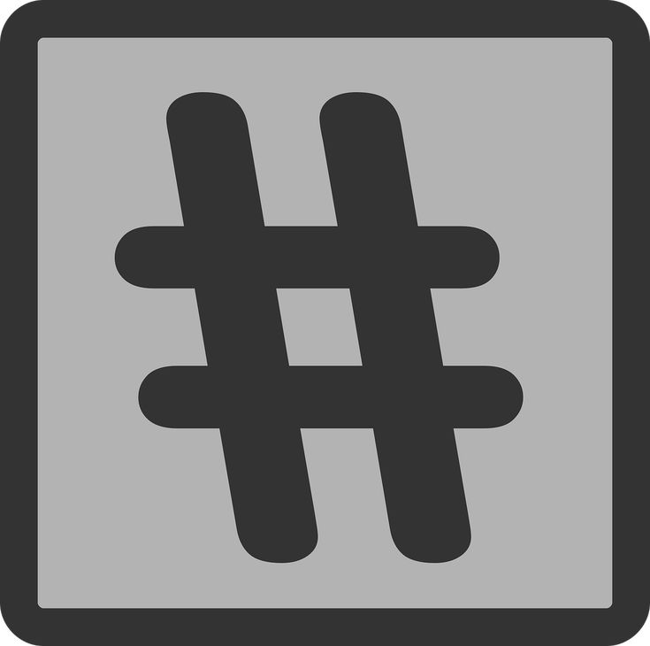The importance of # hashtags