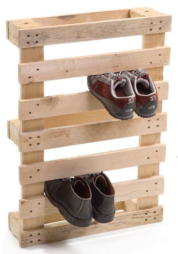 I can DO this - cheap shoe rack for kid's shoes