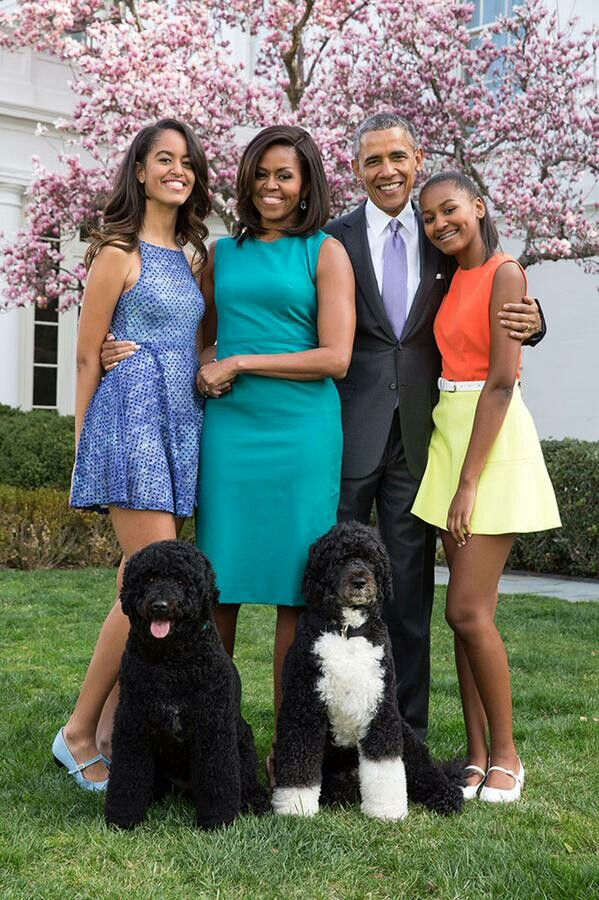 President Obama and his beautiful family ♥