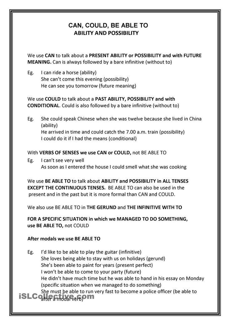 few vs a few exercises pdf