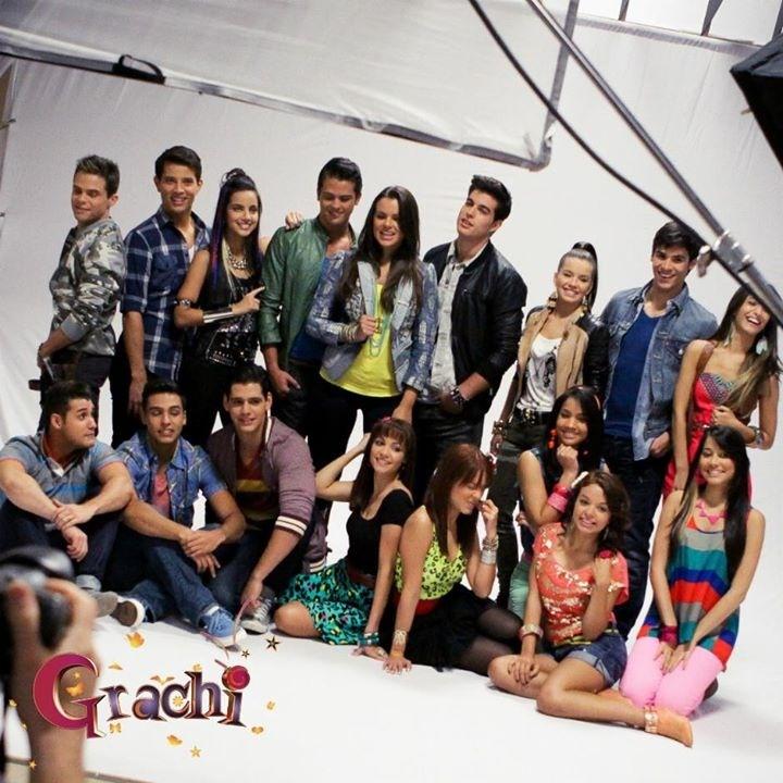 El elenco de Grachi 3