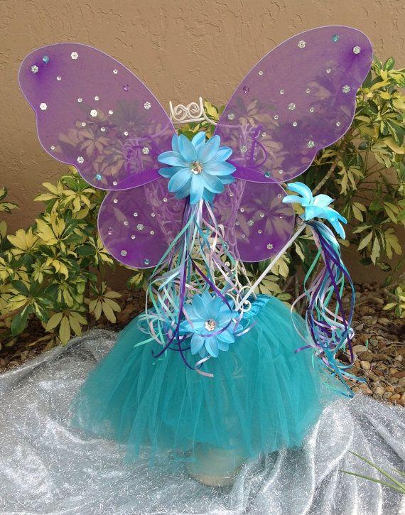 Winx Club Fairy Wings Tutu Fairy Wands Purple by partiesandfun, $18.50