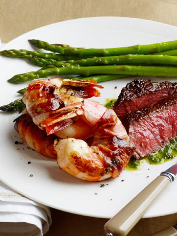 Get Surf and Turf for Two Recipe from Food Network