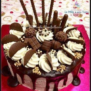 DRIP CAKE, CON E SENZA BIMBY