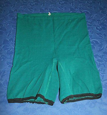 unterwäsche ddr | Vintage Unterhose Damen Strick Schlüpfer Grün Beinnschlüpfer 70er ...