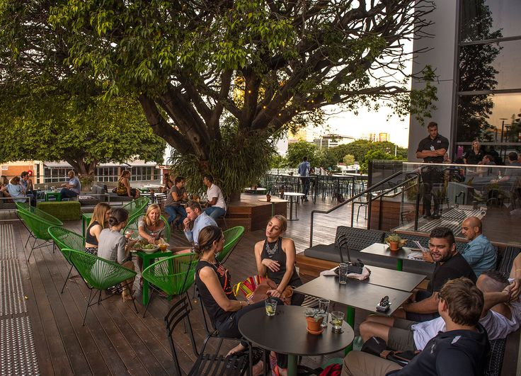 Alfresco dining at #Rydges Fortitude Valley Brisbane.