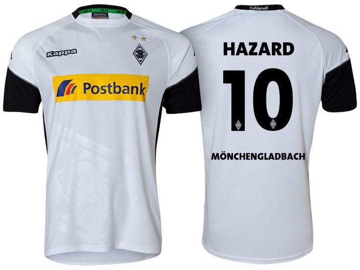 Borussia Monchengladbach Jersey thorgan hazard 17-18 Home Shirt