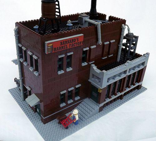 Lego Factory Barrel