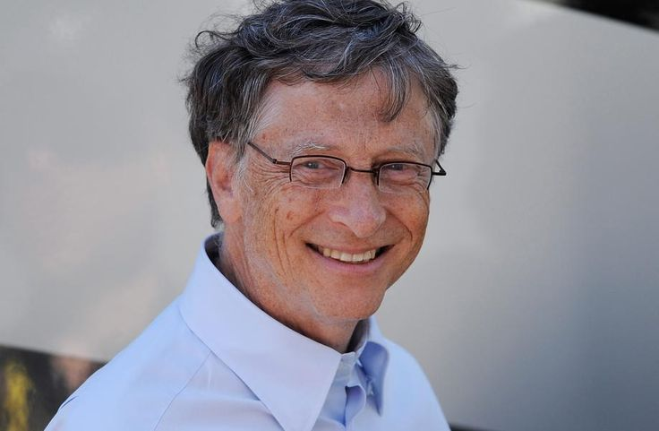 1. Bill Gates (click on image for others and details)