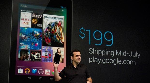 Precio de la tablet Nexus 7 de 8GB de capacidad de almacenamiento