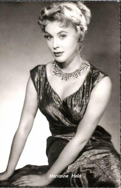Marianne Hold | Evening dresses vintage, Vintage dresses