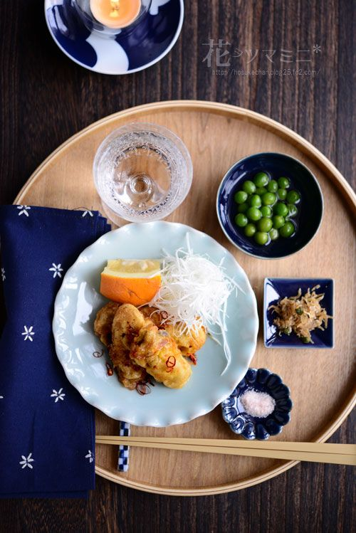 花ヲツマミニ 「クルジョン - 牡蠣のチヂミ」 家飲みの食卓日記