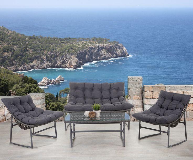 1000+ ideas about garten lounge set on pinterest   polyrattan, Garten und Bauen