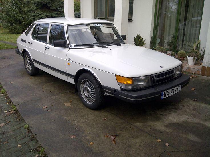 Saab 900i. Mój ex.