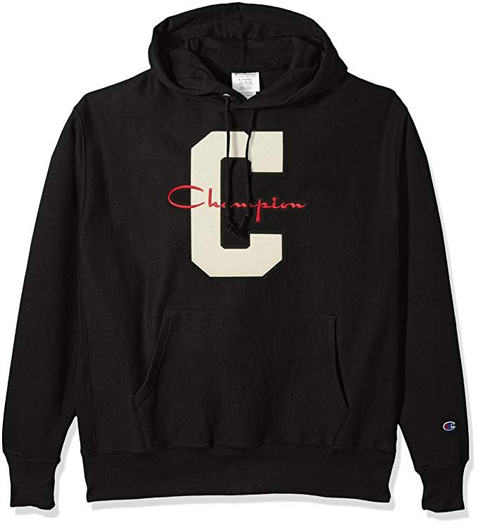 "Champion Life Men/'s Reverse Weave Graphic Pullover Hoodie Big /""C/"" Logo"