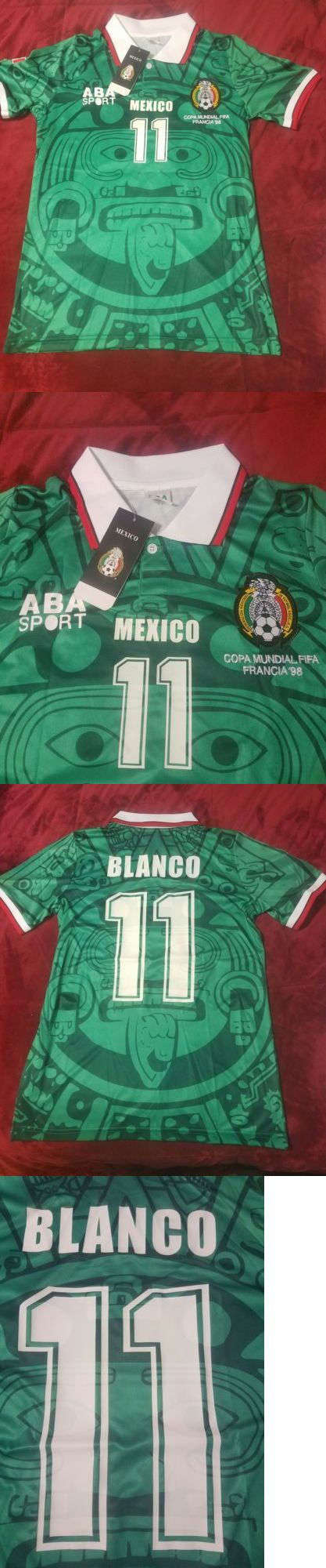 Soccer-National Teams 2891: Mexico Cuauhtemoc Blanco Small Jersey -> BUY IT NOW ONLY: $45 on eBay!