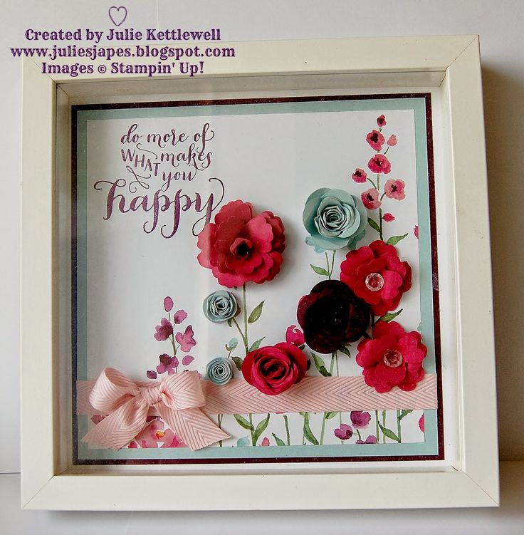 Retreat Floral Frame Project - Painted Blooms