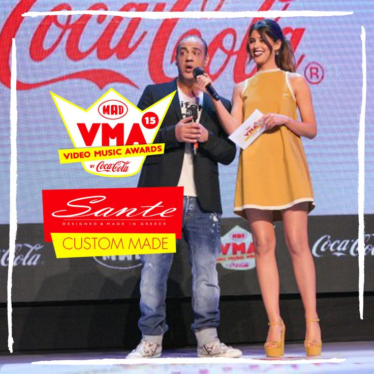 Demmy in SANTE Custom Made at Mad Video Music Awards 2015 #‎madvma15‬ by ‪#‎cocacola‬ #SanteCustom