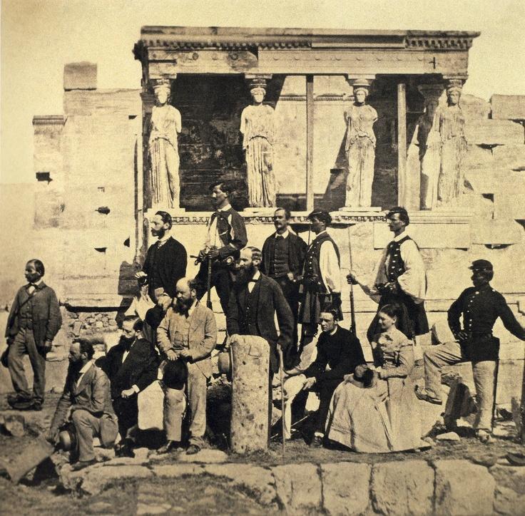 ΑΣΤΟΙ ΣΤΗΝ ΑΚΡΟΠΟΛΗ 1868 ( 'Αγνωστος)
