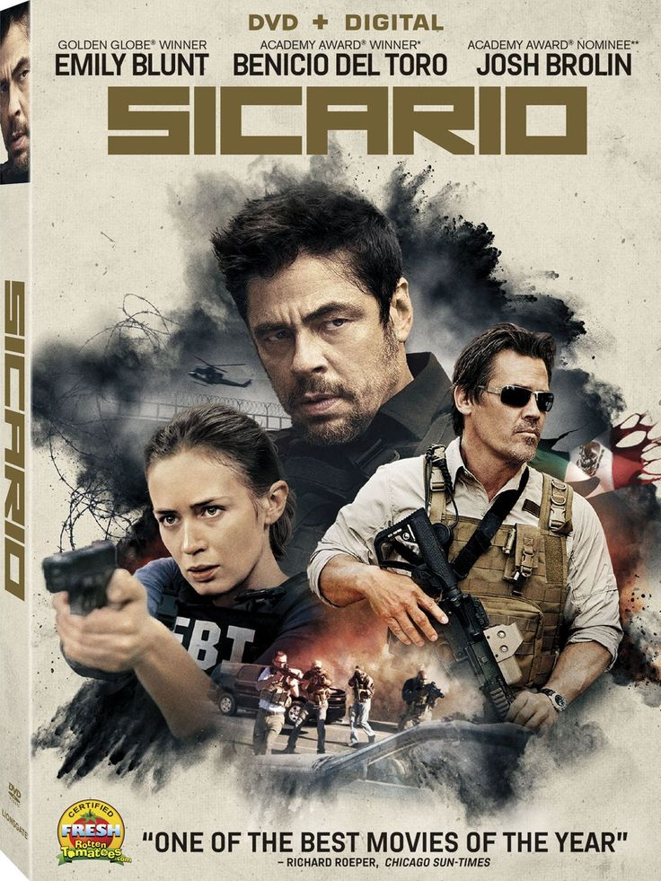 Sicario [DVD + Digital]