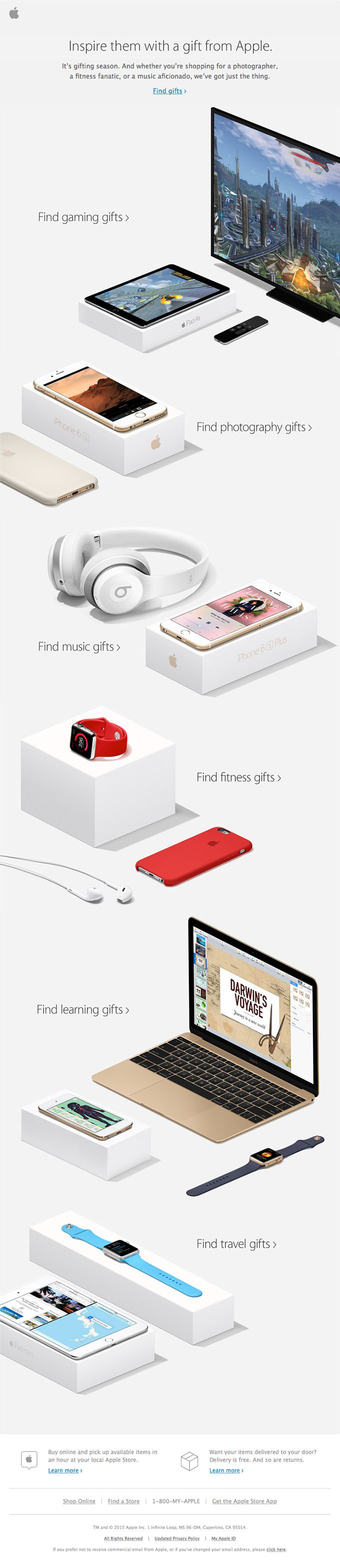 Great gifts for whatever they're into.