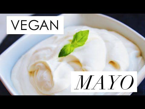 ♡ VEGAN // EASY & QUICK MAYO♡ - YouTube