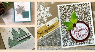 Check out this collection of winter cards by our guest designer Martha @stampartpapel. Details on the blog including supplies used. #katscrappiness #katscrappinessdies #christmas #cardmakersofinstagram #cardmaking #holidaycards #craftsupplies #handmadecards #scrapbooking #craftysales #christmastrees #holidaycheer
