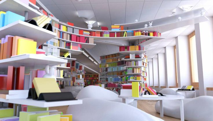 The Academic Bookstore in Helsinki, Finland