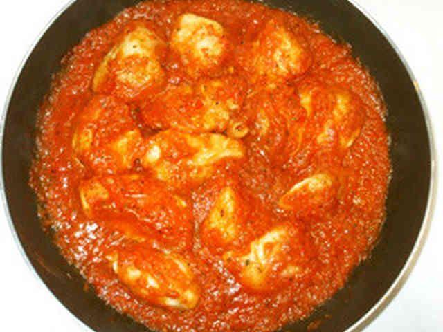 鶏むね肉のハーブトマトソース焼き♪簡単の画像