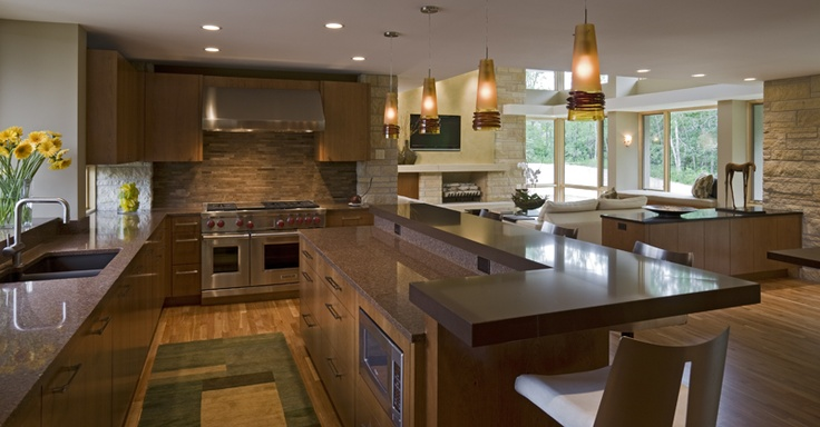 kitchen cambria counters charles stinson architect laurie plattes