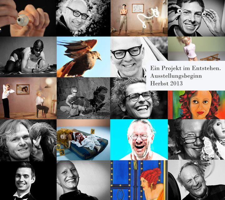 Kunstaustellung in der ForumFactory in Berlin Kreuzberg