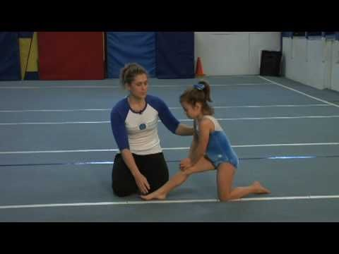 Gymnastics & Tumbling : How to Do the Splits for Kids video. Simple stretching for good health!