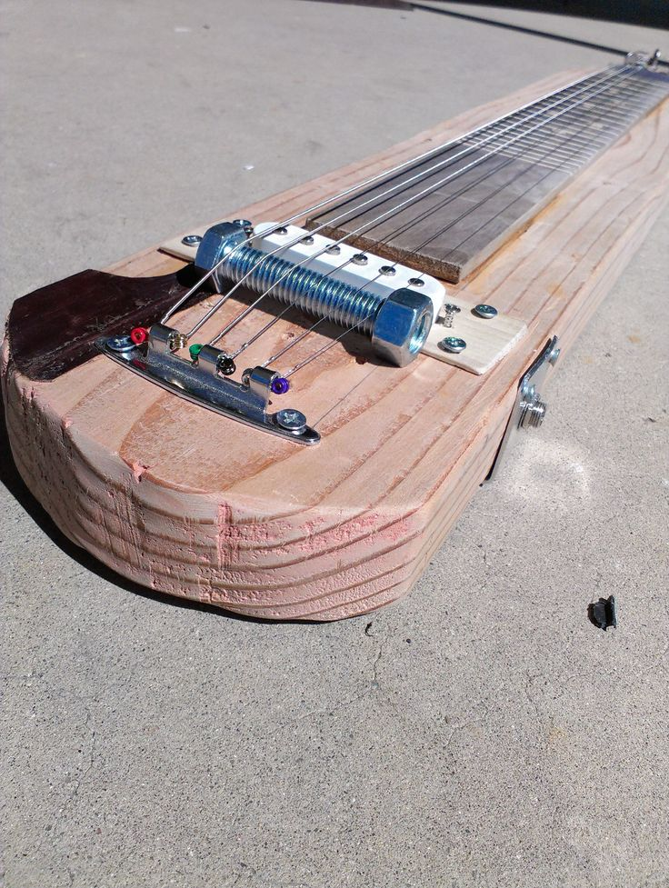 2X4 Electric Lap Steel Guitar Very simular to the one I'm building.